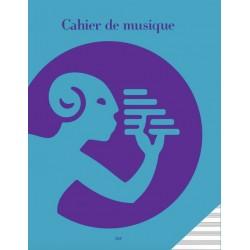 Cahier de Musique - 12 Portées - A1-315F - Music Note