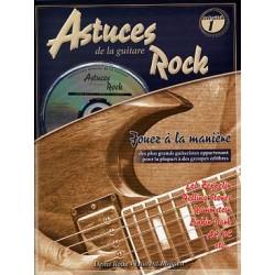 PARTITIONS DENIS ROUX ASTUCES DE LA GUITARE ROCK livre
