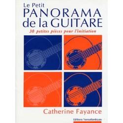 PARTITIONS CATHERINE FAYANCE LE PETIT PANORAMA DE LA GUITARE