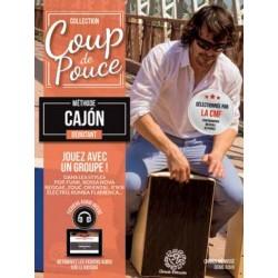 PARTITIONS DENIS ROUX COUP DE POUCE CAJON LIVRE
