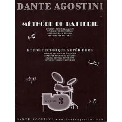 PARTITIONS AGOSTINI vol 3 METHODE DE BATTERIE