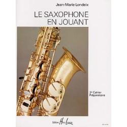 PARTITIONS Jean Marie LONDEIX le saxophone en jouant vol 2