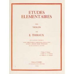 PARTITIONS thibaux etudes elementaires cahier 3