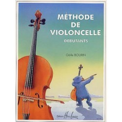PARTITIONS ODILE BOURIN METHODE VIOLONCELLE DEBUTANT