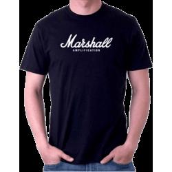Tee-Shirts - T-shirt Marshall amplification noir XL