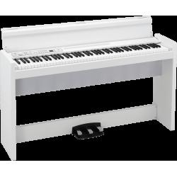 KORG LP380U-WH Piano numérique 88 notes, blanc avec stand